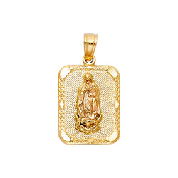 Mary of Guadalupe Rectangular Pendant