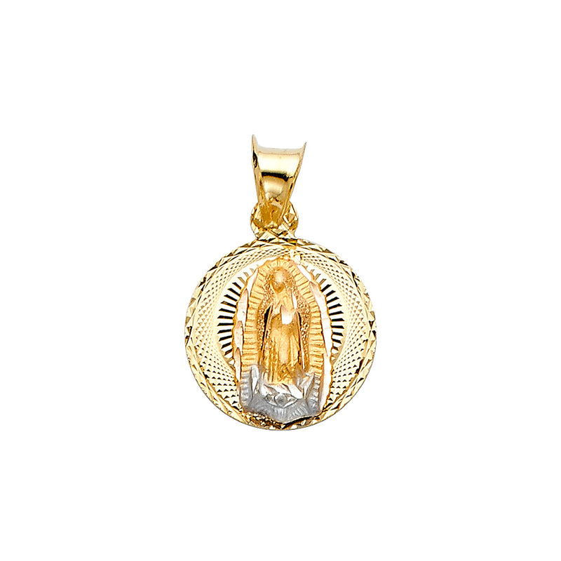 Mary of Guadalupe Round Pendant