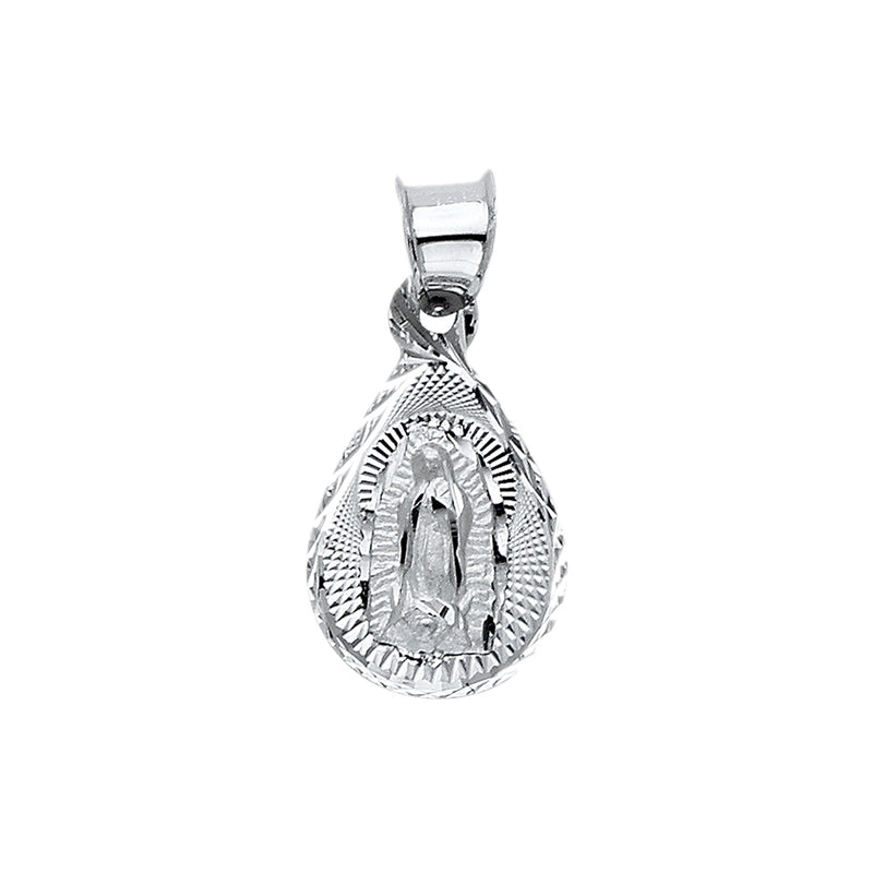 Mary of Guadalupe Teardrop Pendant
