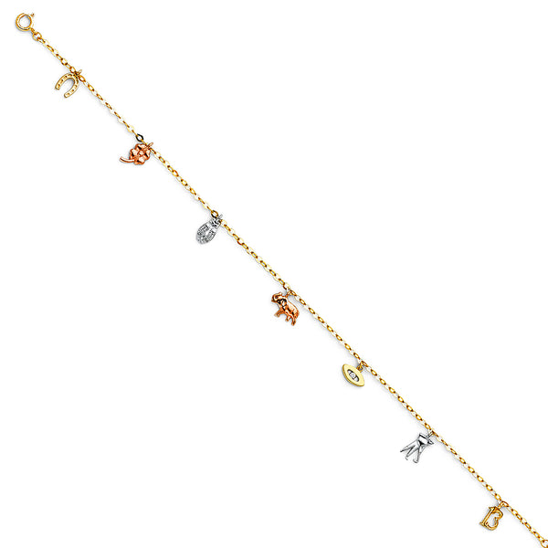 Protection Charm Anklet