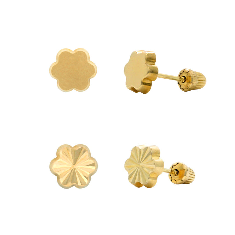 Flower Thick Studs