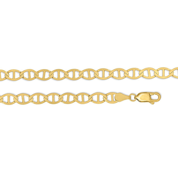 Flat Mariner Chain Necklace