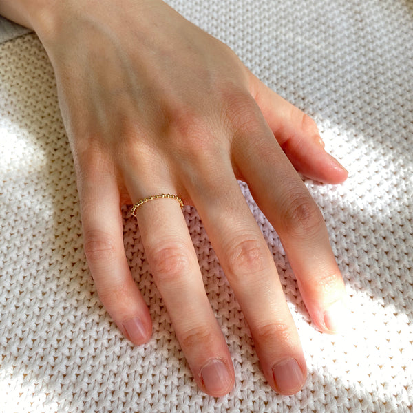 Stackable Fluid Bead Ring
