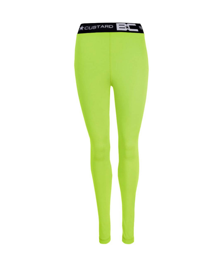 Womens Leggings Apple Green