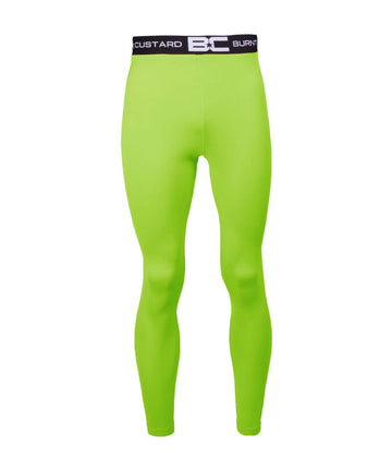 Mens Leggings Apple Green