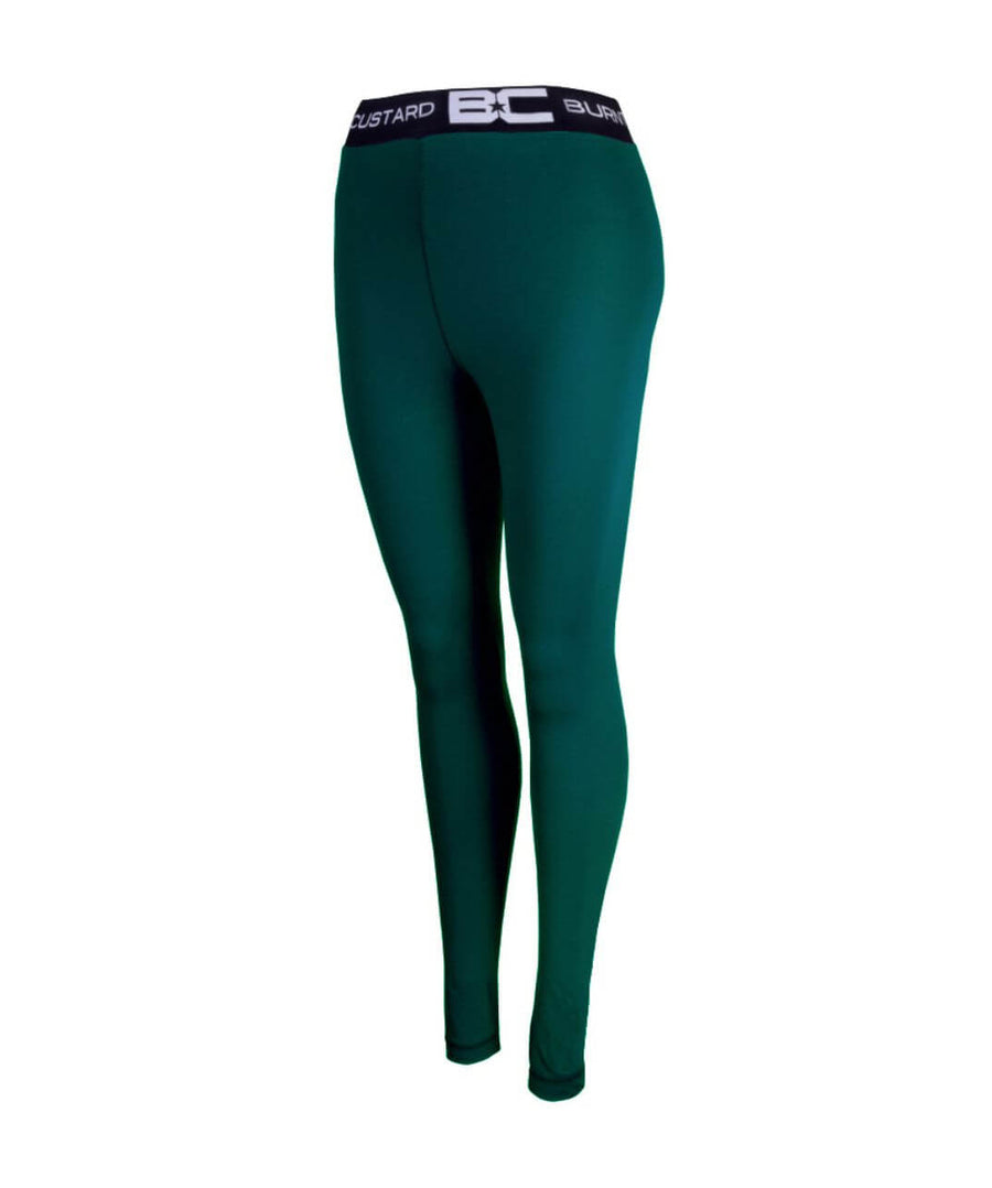Womens Leggings Bottle Green