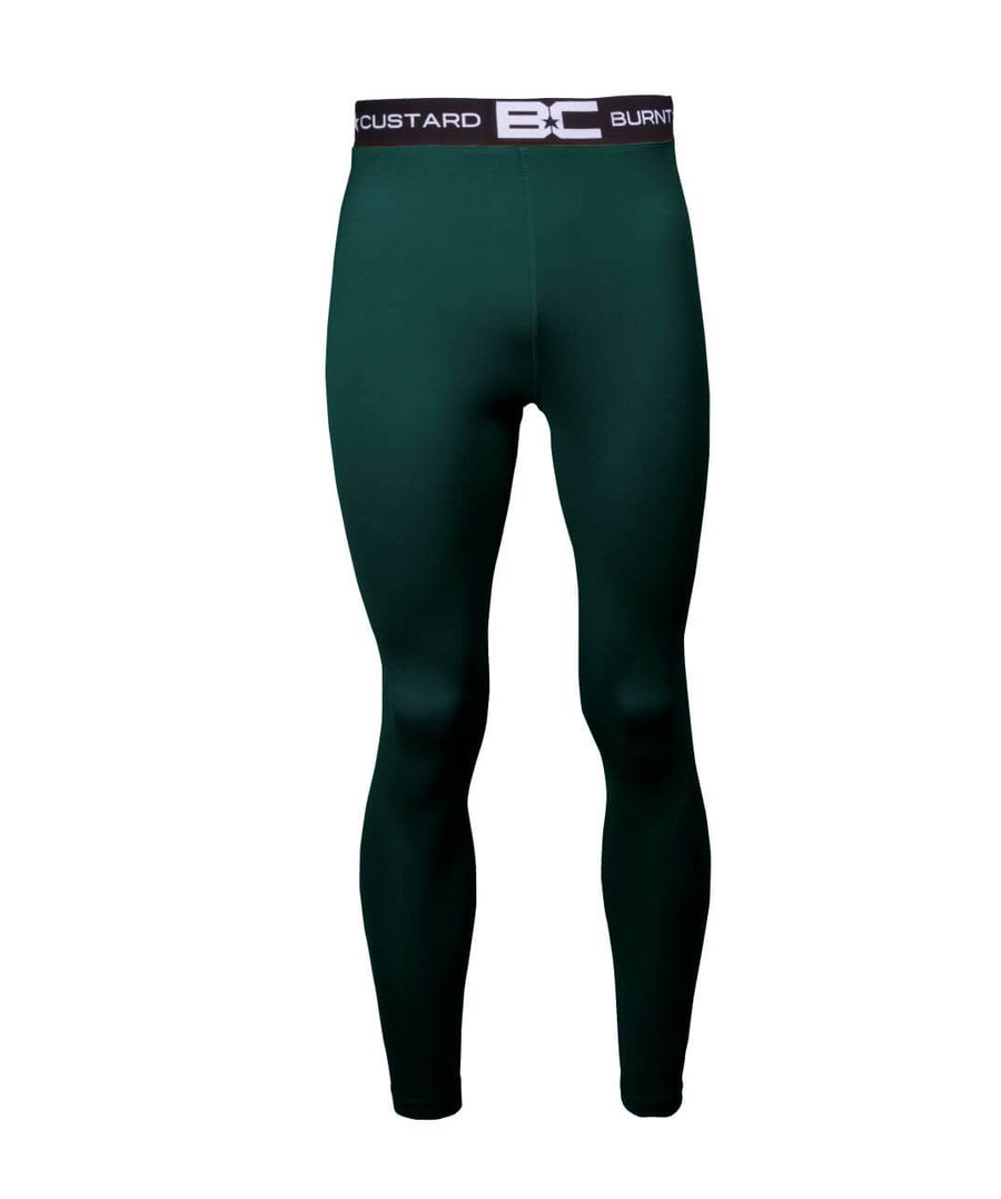 Mens Leggings Bottle Green