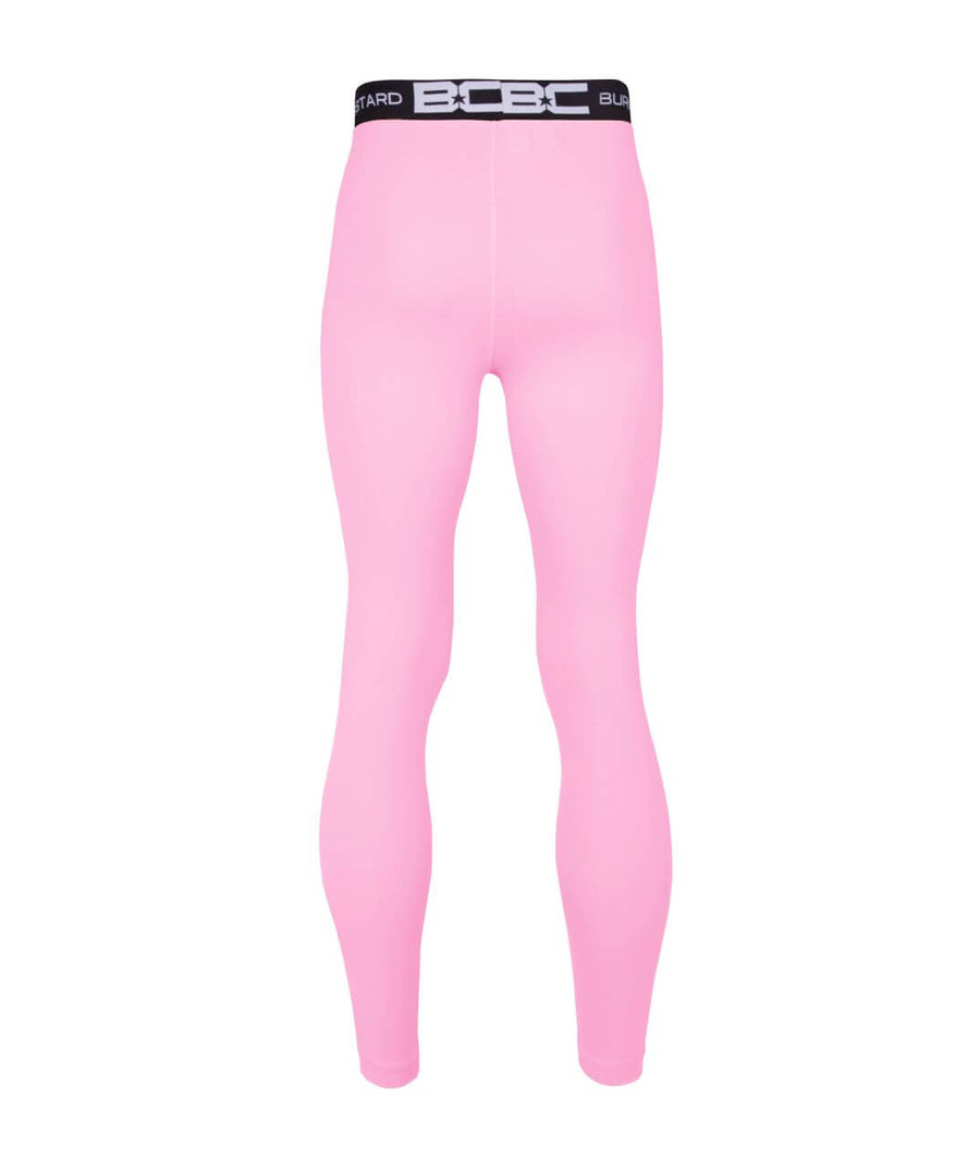 Mens Leggings Pale Pink