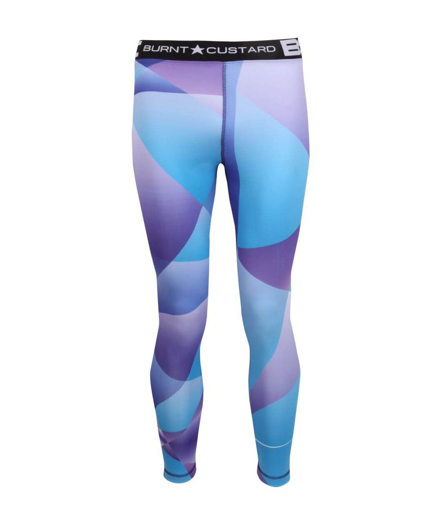 Mens Leggings Purple Haze