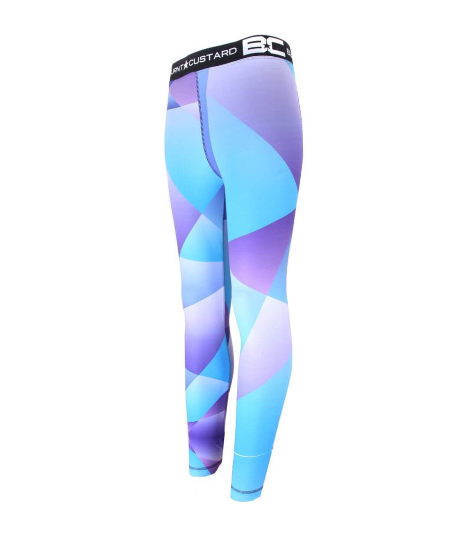 Womens Leggings Purple Haze