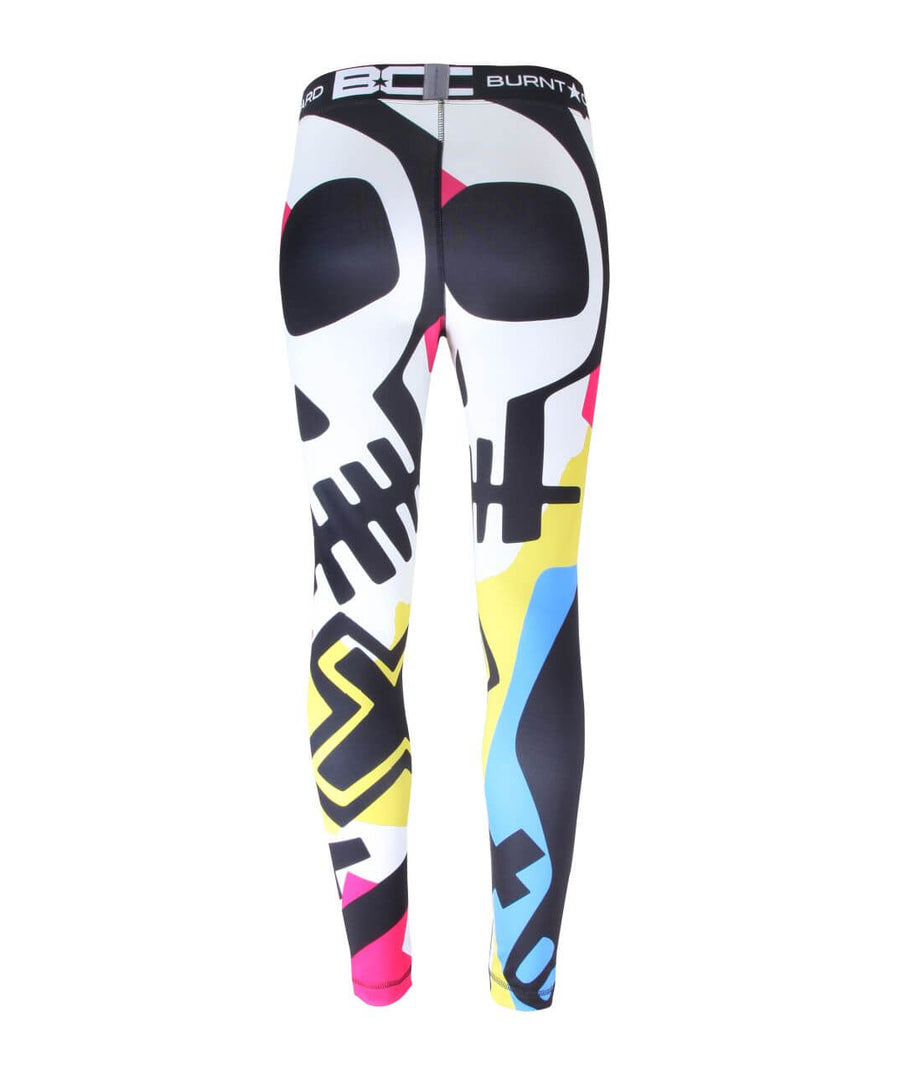Womens Leggings Skull & Cross