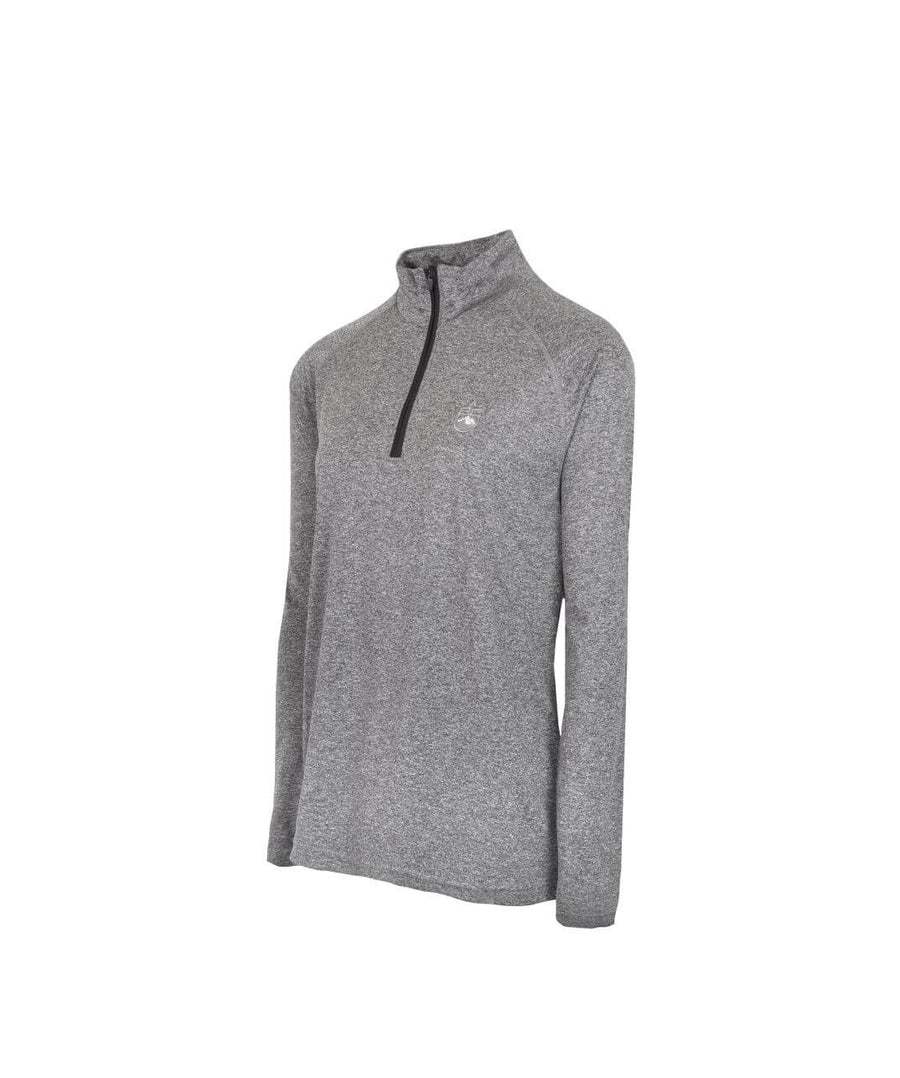 Womens 1/4 Zip Midlayer Grey