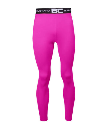 Mens Leggings Bright Pink
