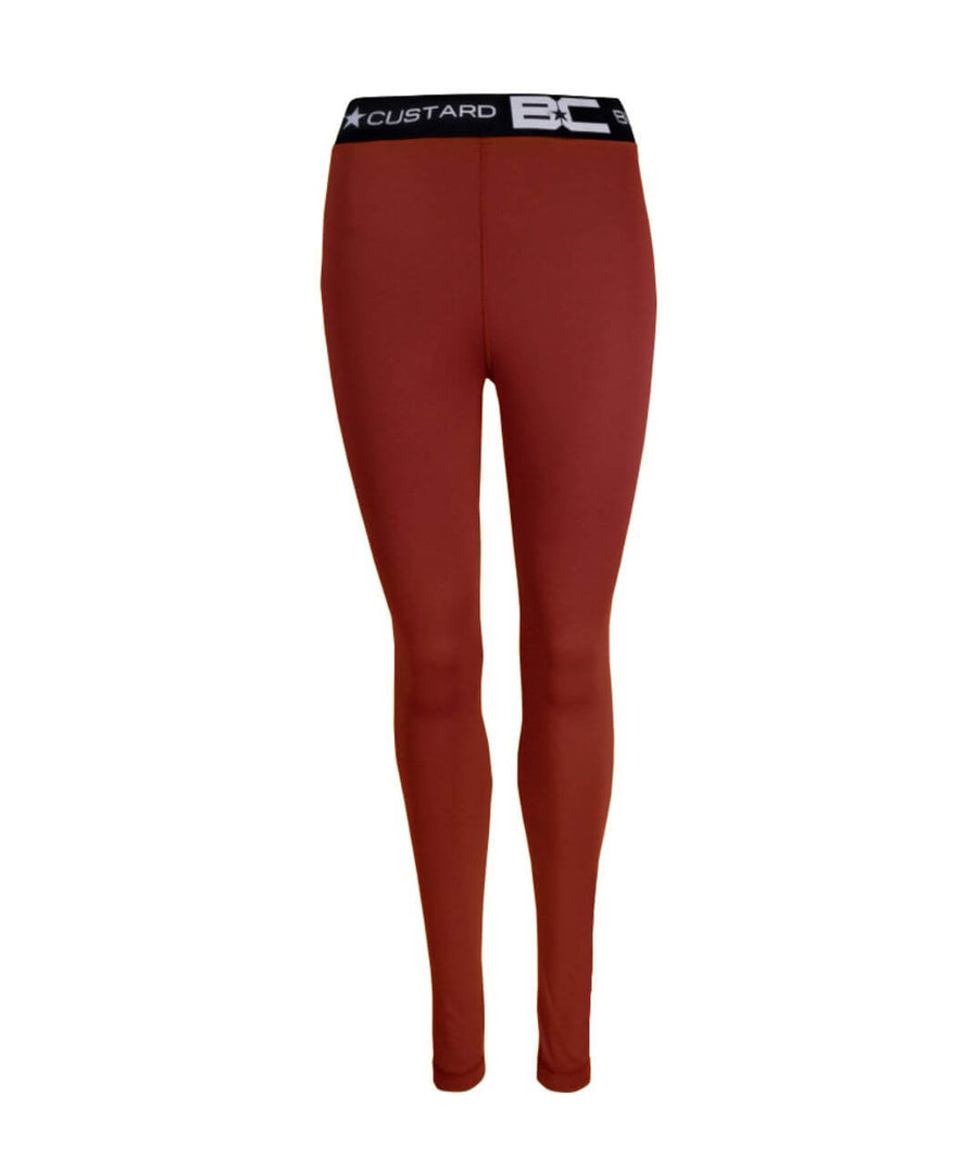 Womens Leggings Burgundy