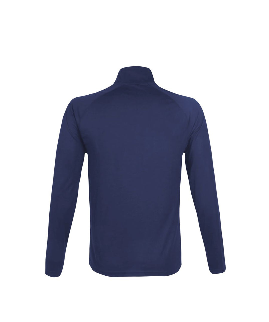 Mens 1/4 Zip Midlayer Navy