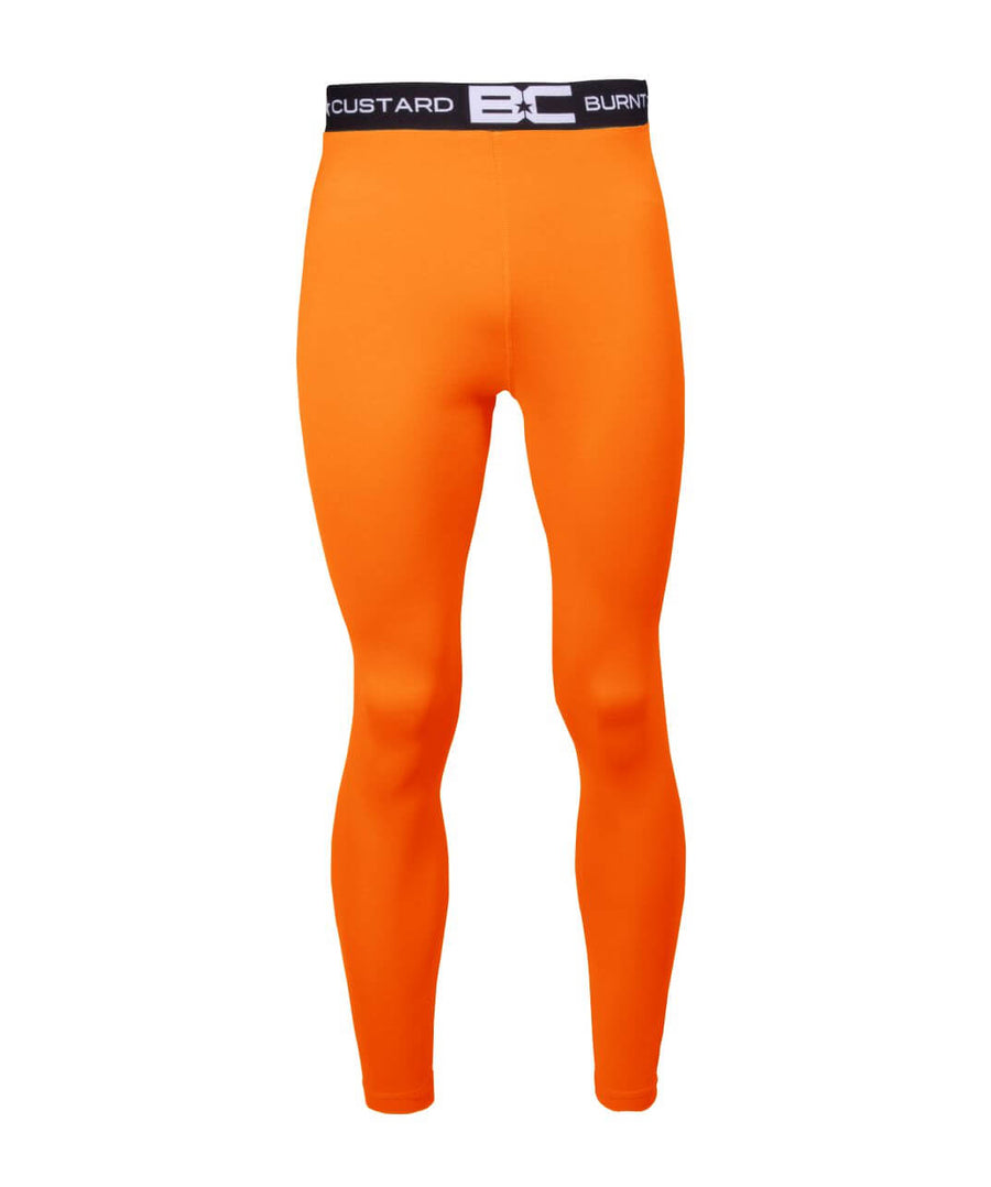 Mens Leggings Burnt Orange