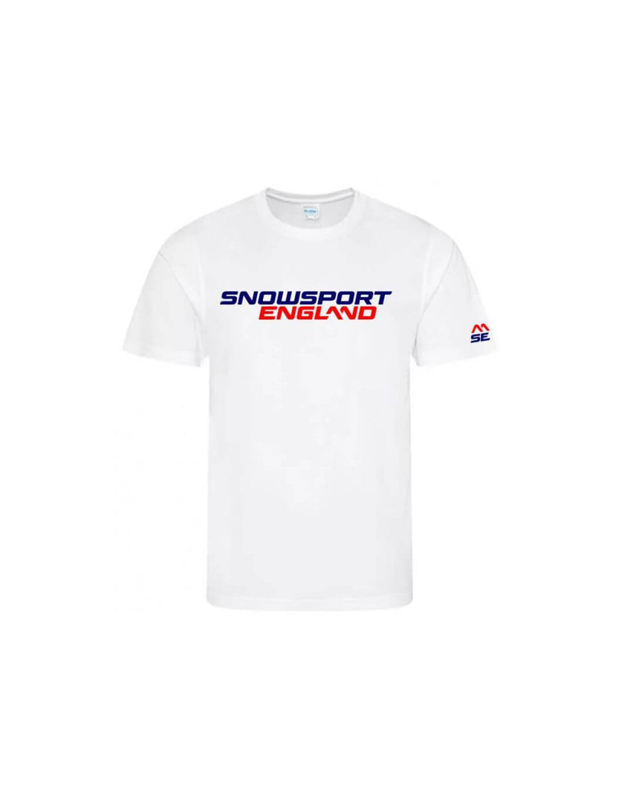 Snowsport England Adults Training Top White