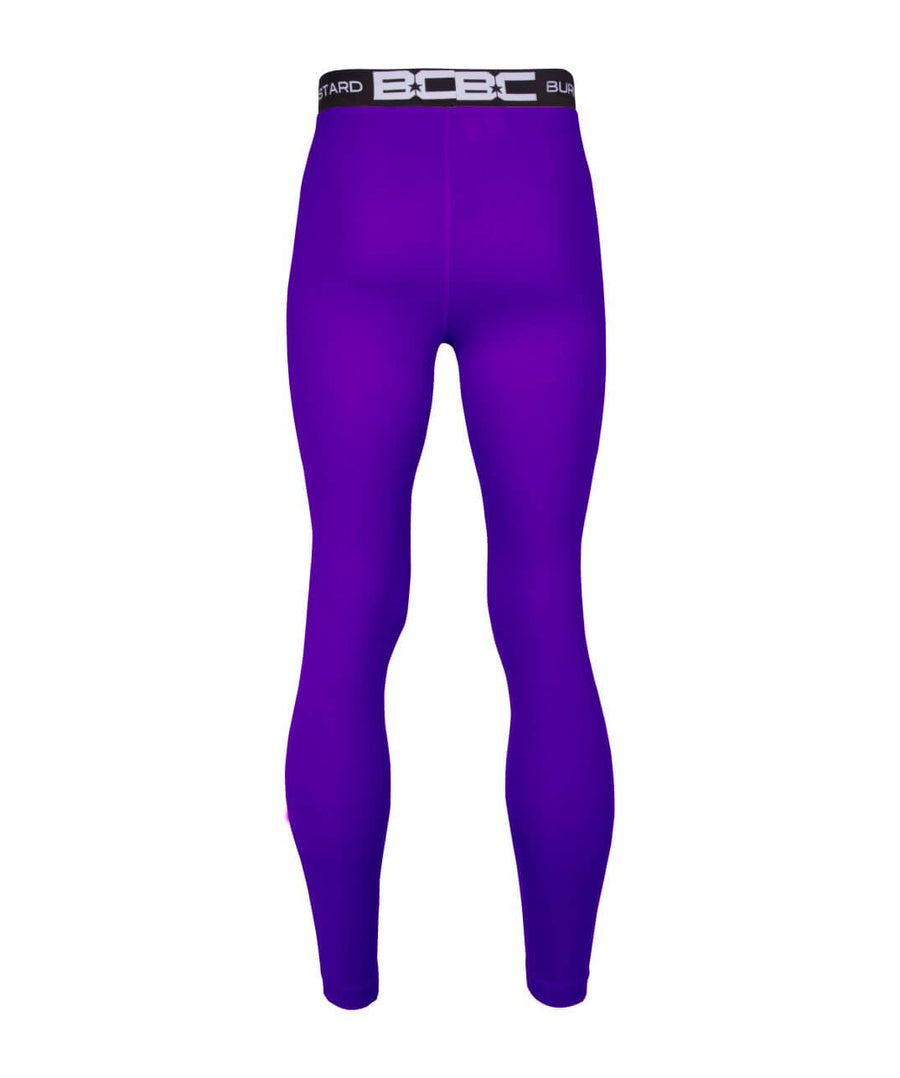 Mens Leggings Purple