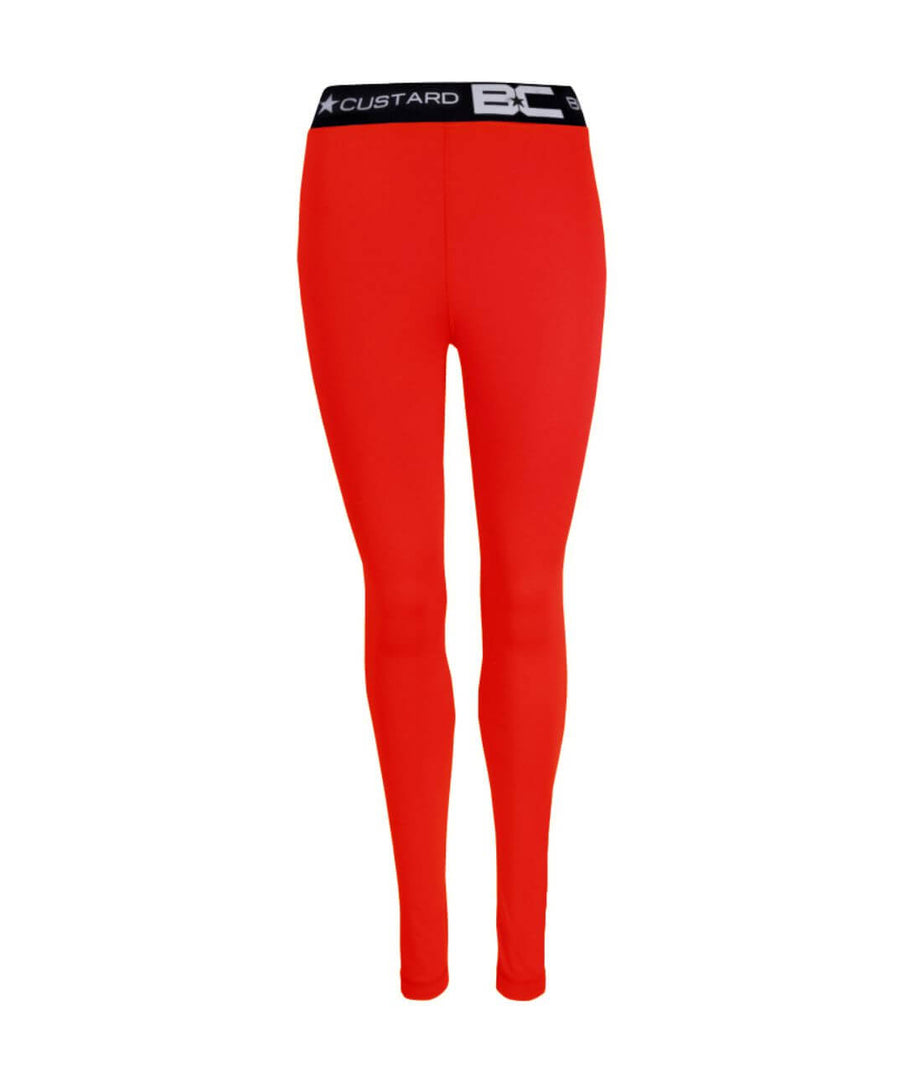 Womens Leggings Red