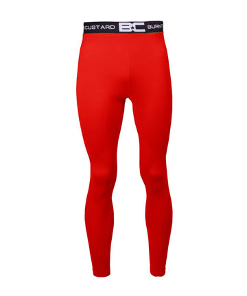 Mens Leggings Red