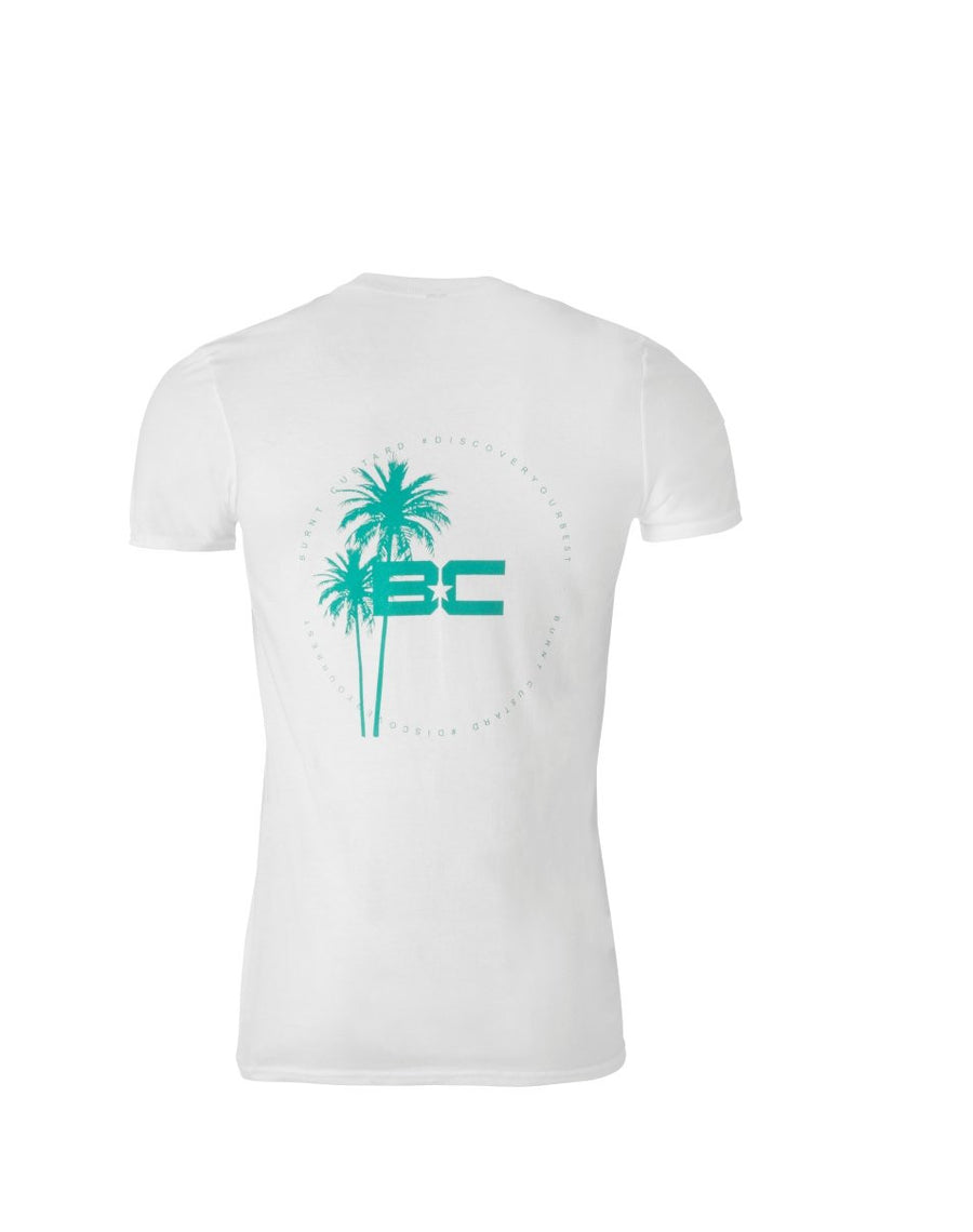 Mountain Palm Tee White
