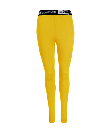 Womens Leggings Gold