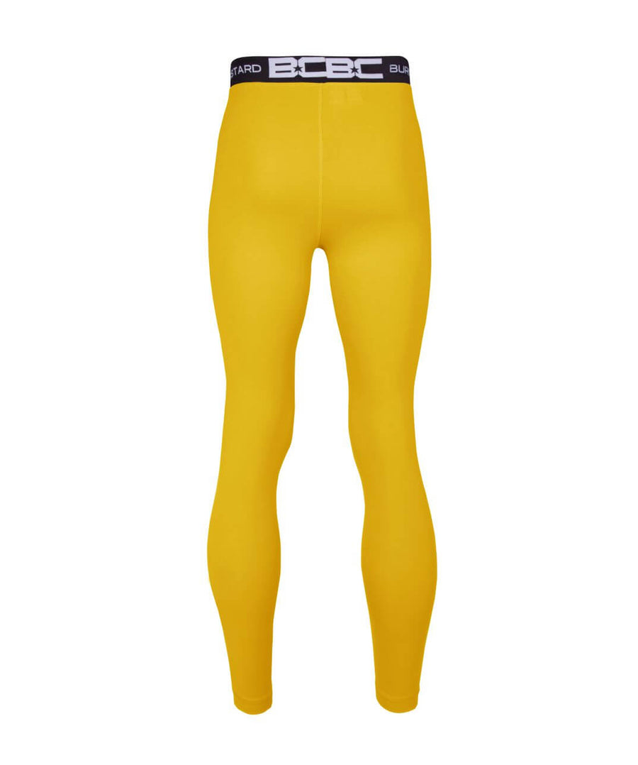 Mens Leggings Gold