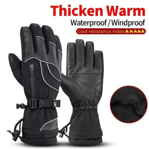 Raymar's S133Black / L Waterproof Ski -30 Winter Windproof  Gloves