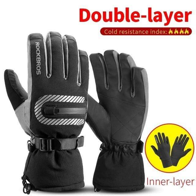 Raymar's S171 / L Waterproof Ski -30 Winter Windproof  Gloves