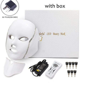 Raymar Store AU Plug with box Phototherapy Face Mask