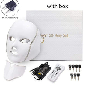 Raymar Store EU Plug with box Phototherapy Face Mask
