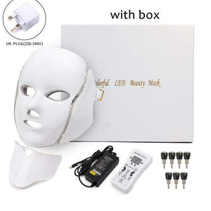 Raymar Store UK Plug with box Phototherapy Face Mask