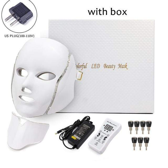 Raymar Store US Plug with box Phototherapy Face Mask