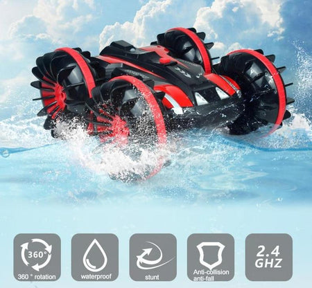 Trending Dealz Ambicol-2-in-1 Remote Control Stunt Car