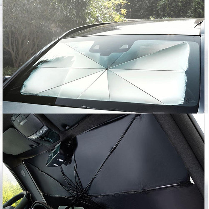 Trending Dealz Car Windshield Sun Blocker Umbrella