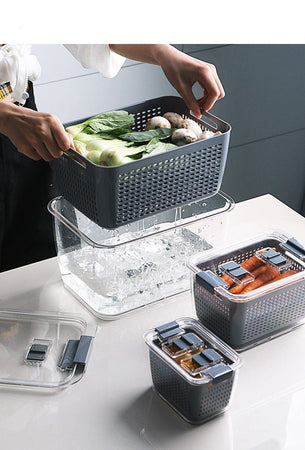 Trending Dealz Large Freshkeep -Multi-Functional food Storage Container