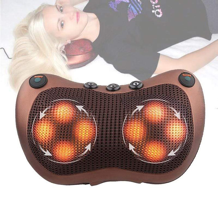 Trending Dealz Kneading Infrared Therapy Massage Pillow