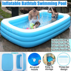 Trending Dealz Thicken Inflatable Swimming Pool 43 inch -120 inch