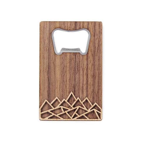Mountain Card Bottle Opener