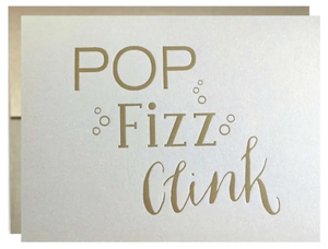 Pop, Fizz, Clink Old Gold