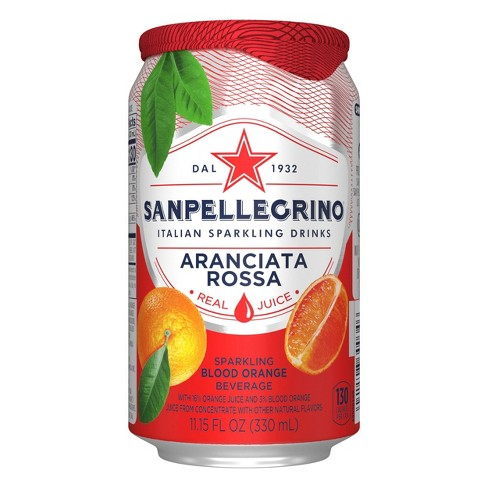 SanPellegrino Italian Sparkling Drinks - Aranciata Rossa - Sparkling Blood Orange