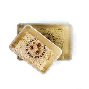 5.6oz Acacia Honeycomb Square Mini