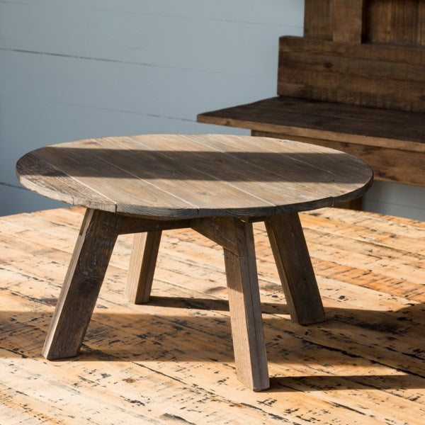 Round Wooden Table Riser