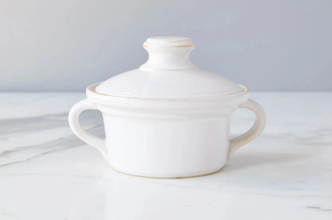 Exposed Edge Butter Dish