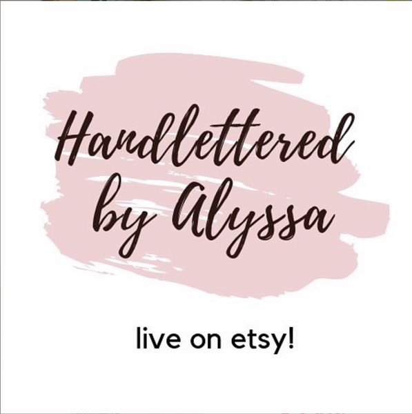 Now Open by Handlettered by Alyssa