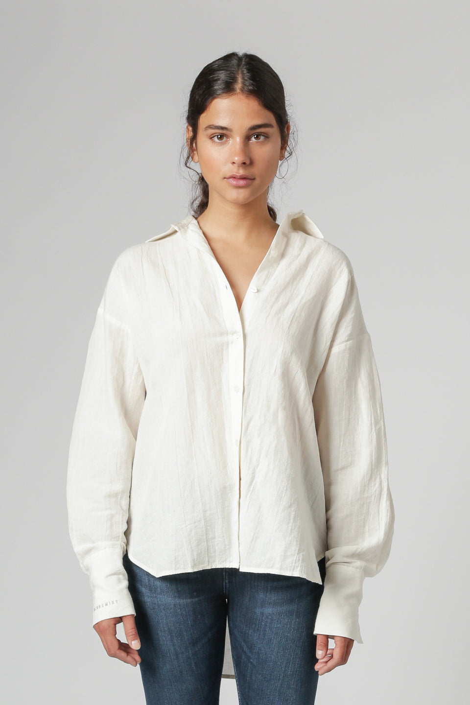 The Overnighter Shirt in Natural