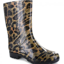 Load image into Gallery viewer, Corkys Riverwalk Leopard Rain Boots...New!!