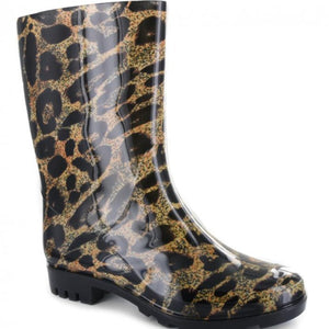 Corkys Riverwalk Leopard Rain Boots...New!!