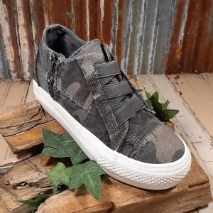 "Blowfish ""Mamba"" Grey Camouflage Canvas Colored Sneaker"