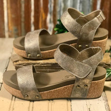 Load image into Gallery viewer, NEW!!! Corkys Slidell Platform Wedge